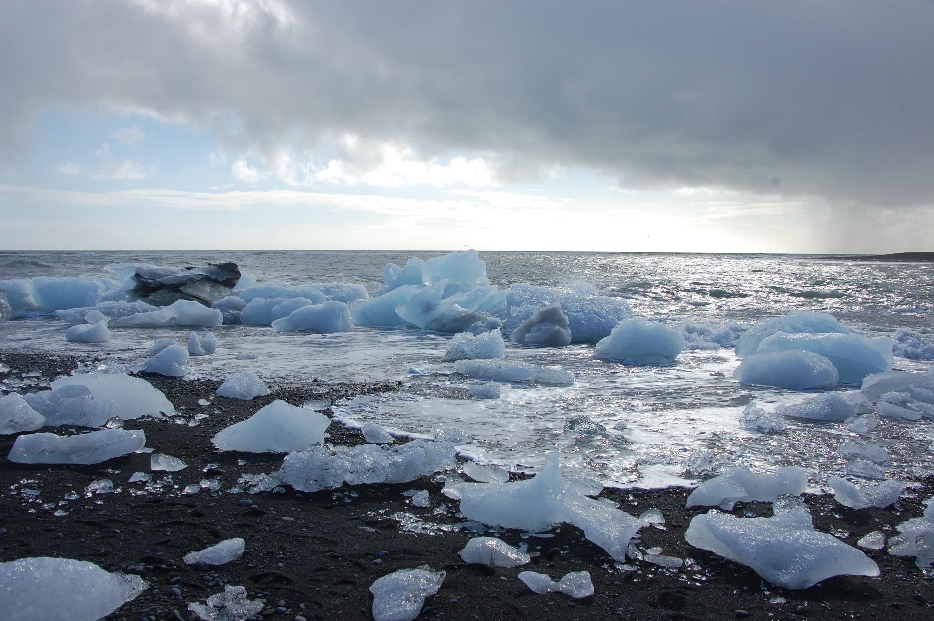Where the ice caps meet the sea
