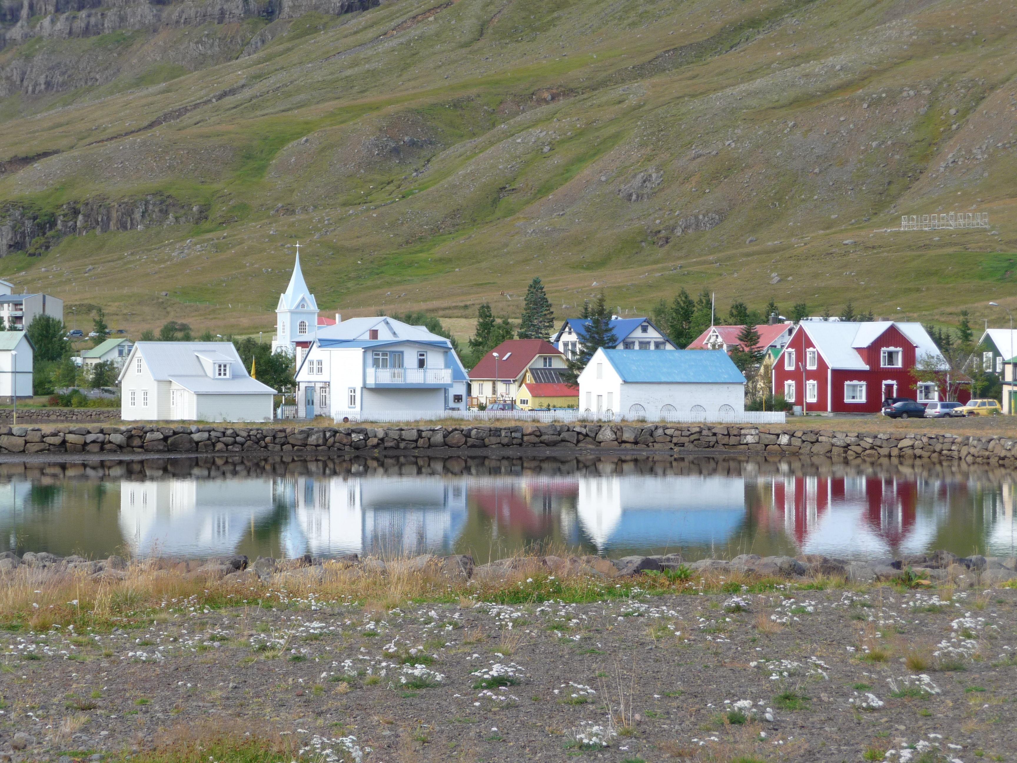 Town of Seydisfjordour