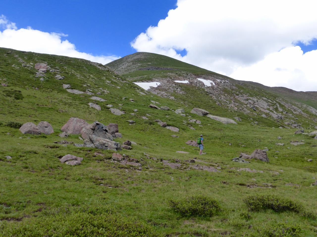 34 Rito Alto south slopes