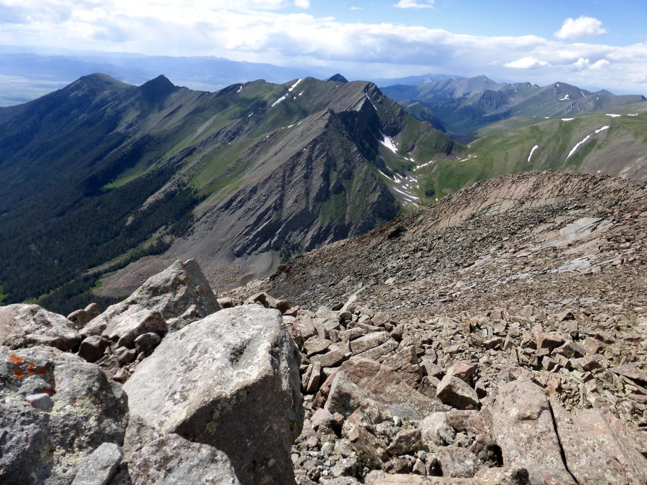 View north-northwest.