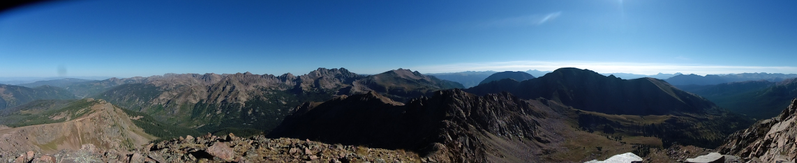 West Deming Summit Pano