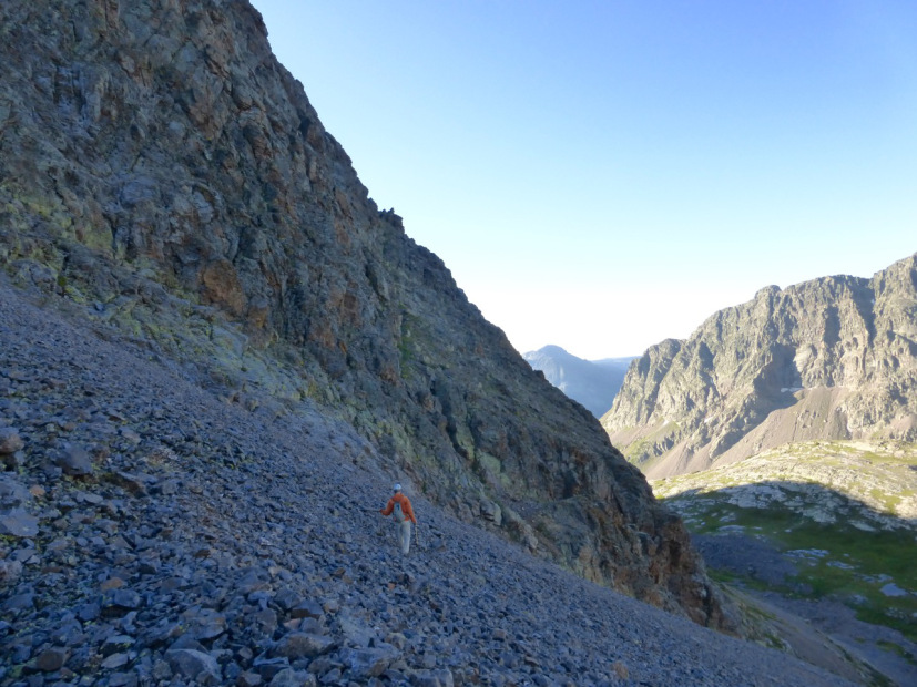 gully trav to 9 ledge