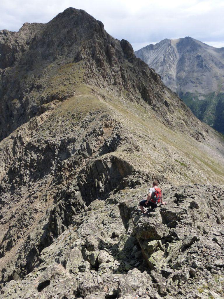 descent trav tower to Truro saddle