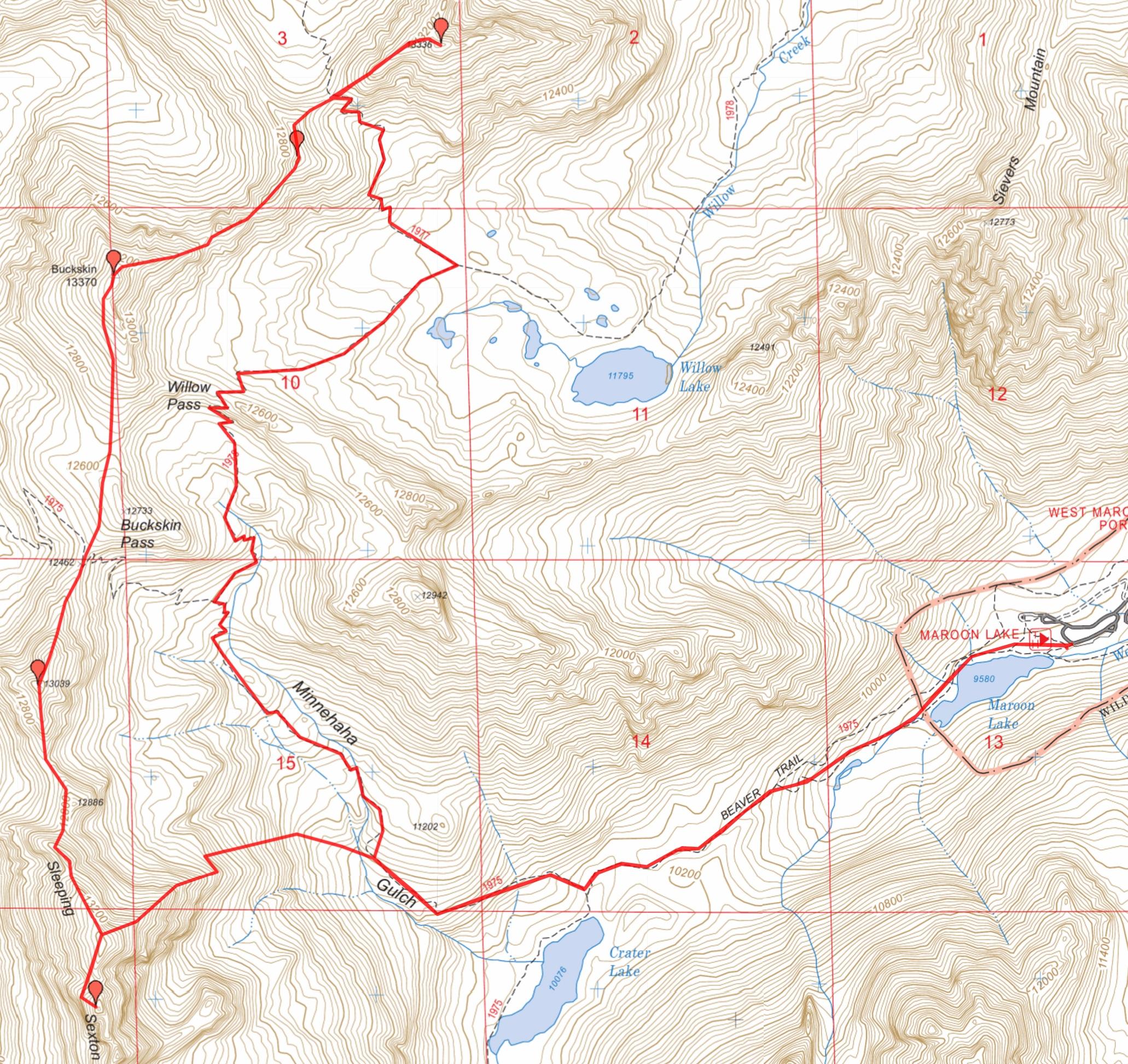 Colorado Ers Map X Poster Best Maps Ever Colorado Ers - 14ers map us