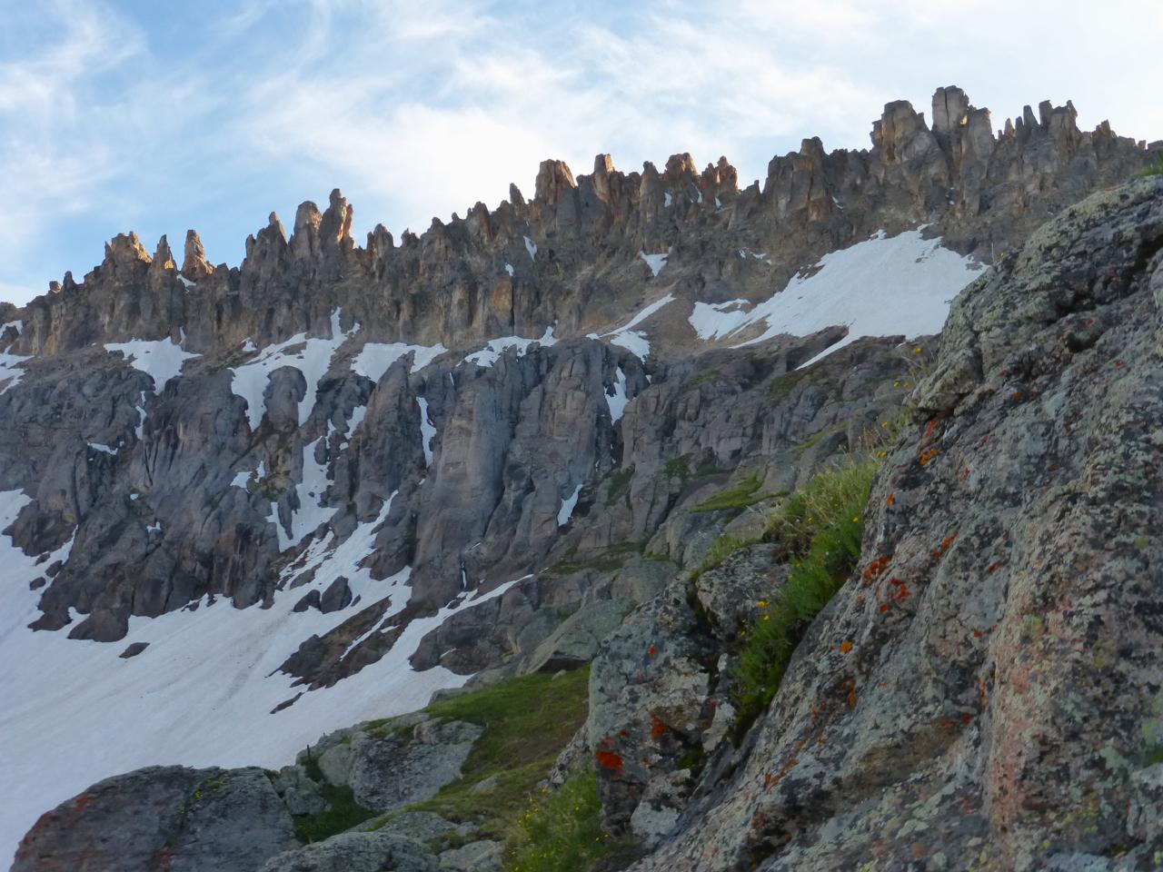 Santa Sophia ridge fr upr Gov basin